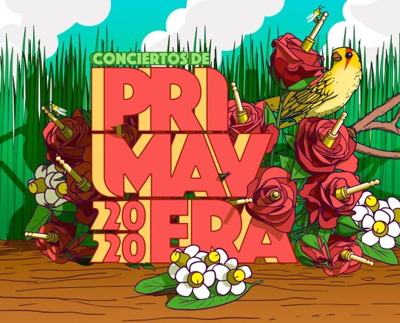 Creatividad Conciertos de Primavera 2020.