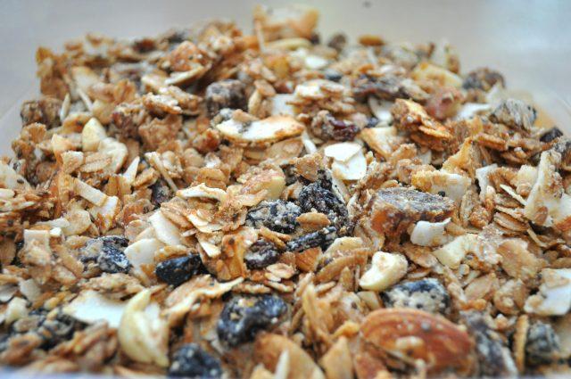 Białkowa granola