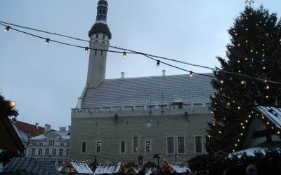 Estonsko – Prosinec 2009