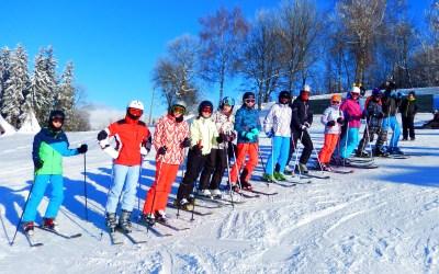 Zimní lyžařské dny na Benecku