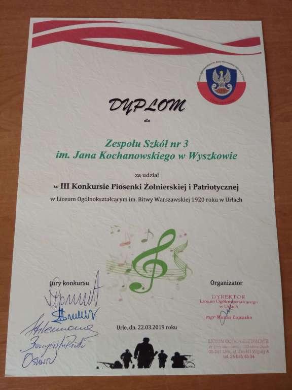 III Konkurs piosenki żołnierskiej