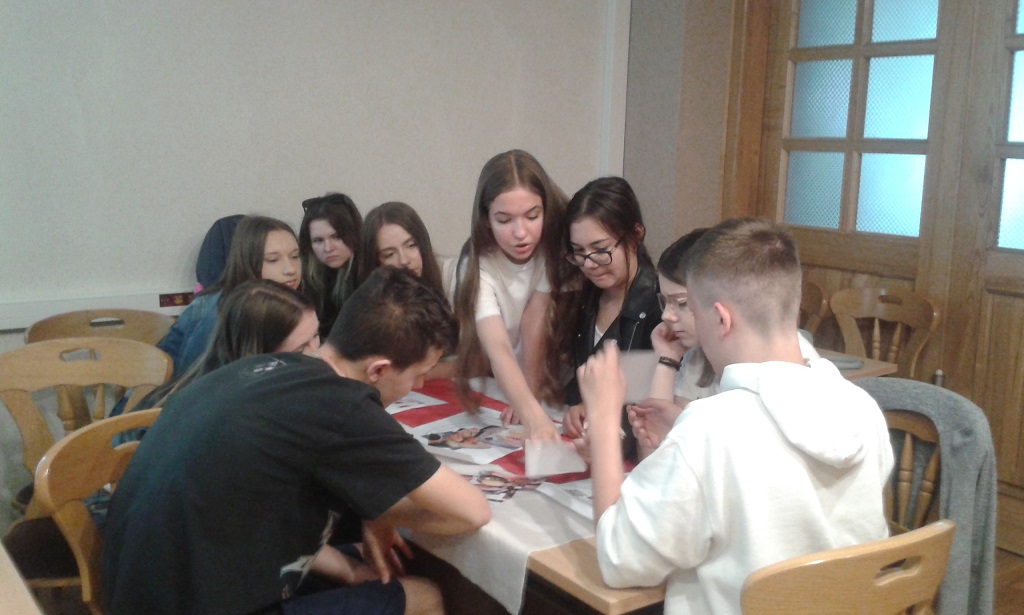 Spotkania z międzynarodowymi wolontariuszmi.
