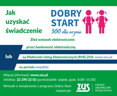 """Program """"Dobry start"""" 300+"""