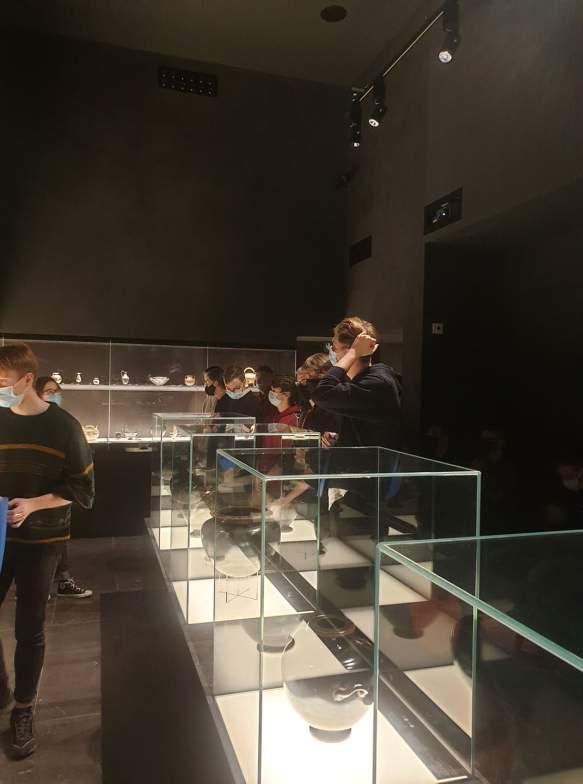 Klasy 3TI5 i 4TI w Muzeum Narodowym