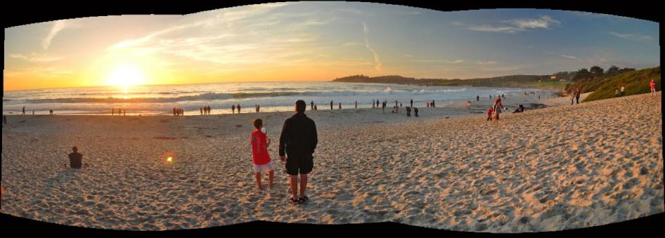 Sunset from Carmel Beach