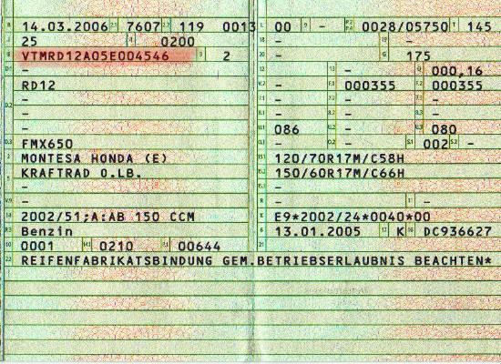 Find My Vehicle Registration Number