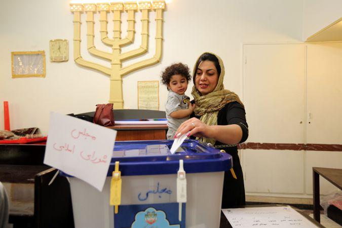 Az iráni választáson a zsidók is szavaztak – képriport
