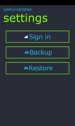 7 - Settings Page