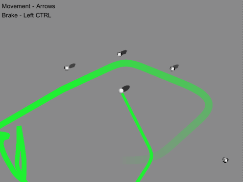 Screenshot of actual gameplay