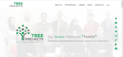 tree projects website