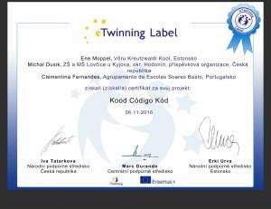 etw certificate 135139 cz KOD-1