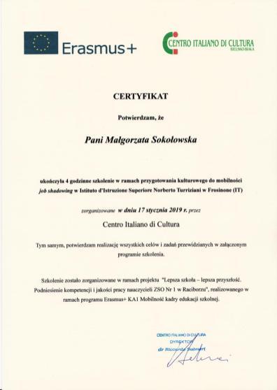 Certyfikat_Centro_italiano_1