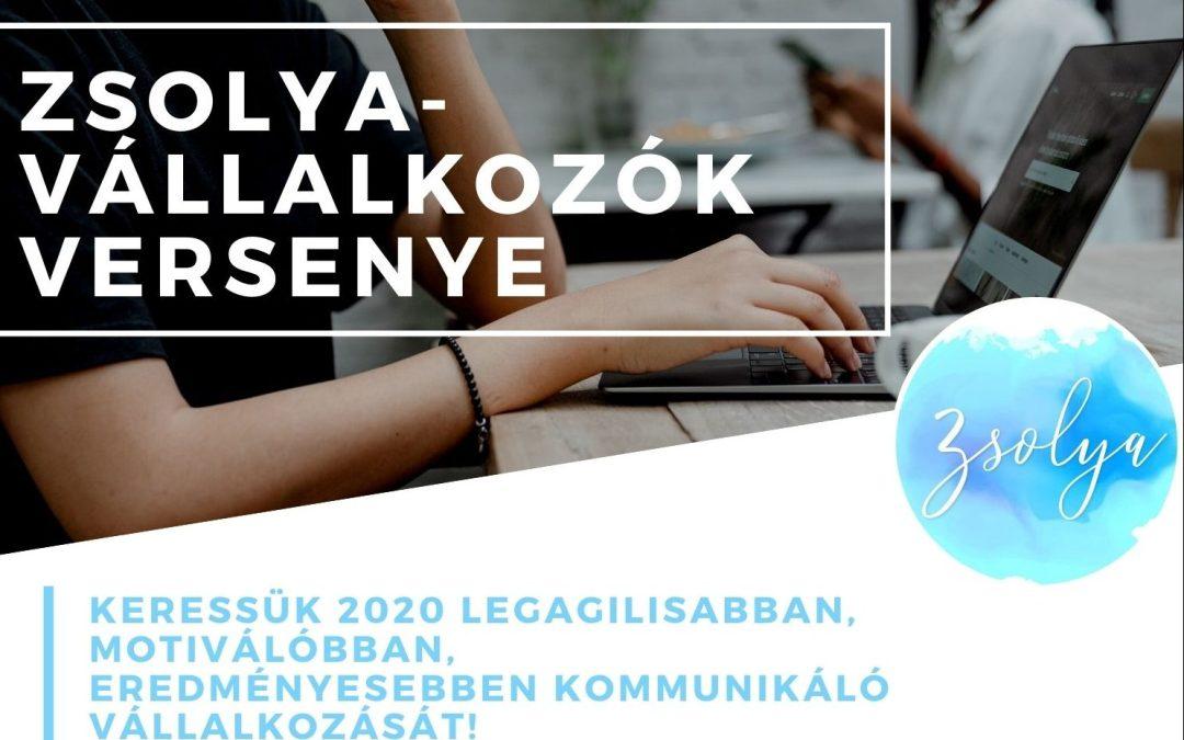 Zsolya-vállalkozók versenye: fókuszban az online kommunikáció