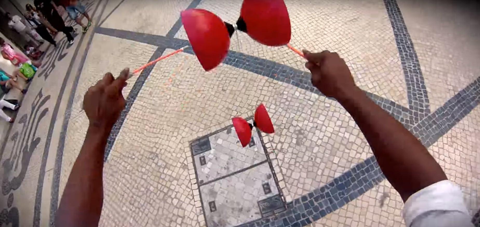 Zsonglőrködés belső szemszögből (GoPro-val)
