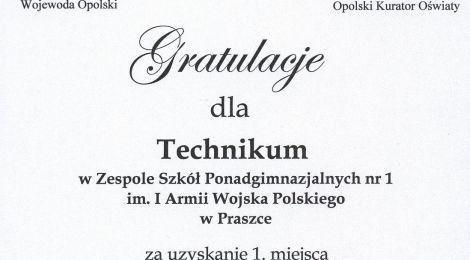 Gratulacje od Wojewody i Kuratora.