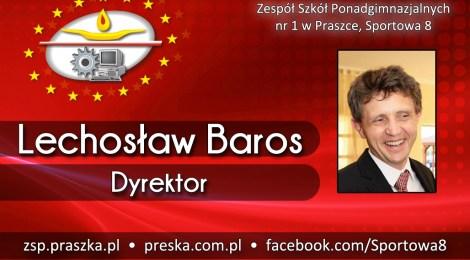 Lechosław Baros - dyrektor