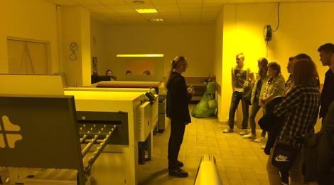 Wizyta w drukarni Opolgraf w Opolu