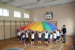 SPARTAKIADA 2013 Z AGATĄ KL. I i przedszkolaki 076