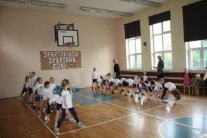 SPARTAKIADA 2013 Z AGATĄ KL. I i przedszkolaki 109