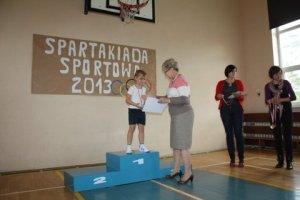 SPARTAKIADA 2013 Z AGATĄ KL. I i przedszkolaki 141