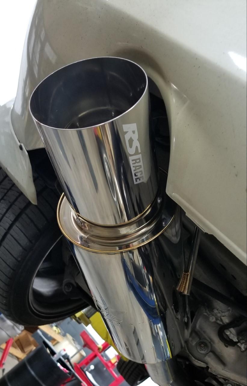 greddy 03 08 nissan 350z revolution rs race exhaust 3