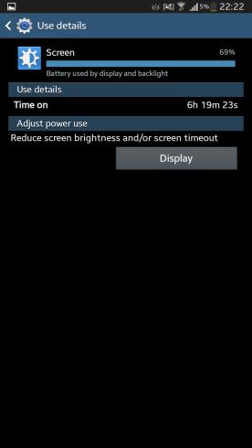 Screen ON