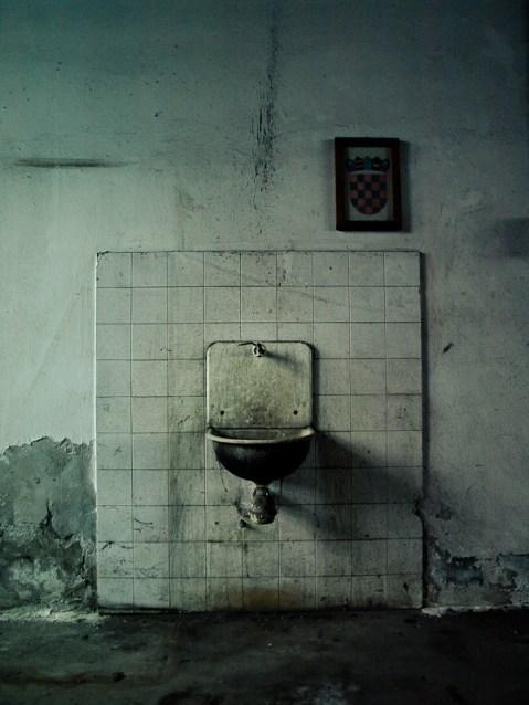 Ex-military object in Koprivnica.