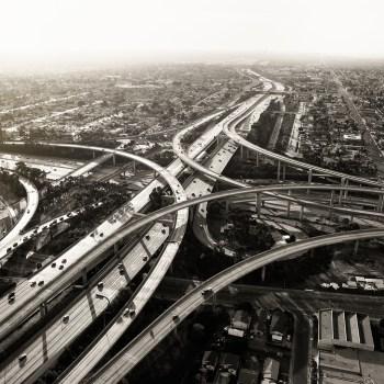 los angeles-Fine-Art-City-Scape-Los-Angeles-Roads-2