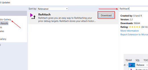 AX7 Visual Studio Add Extension Reattach