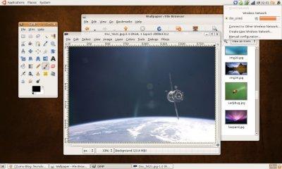 "Ubuntu 7.10 ""Gutsy Gibbon"" e Gimp 2.4.0-rc3"