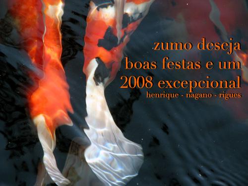 Boas festas e até 2008