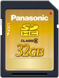 Panasonic: protótipo de cartão de 32 GB