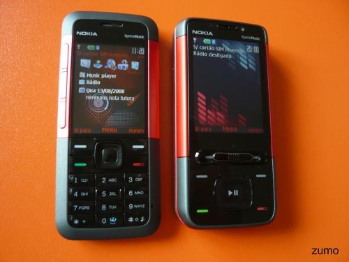 Nokia XpressMusic 5310 e 5610