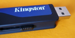 Kingston DataTraveler HyperX 4 GB - detalhe do conector USB