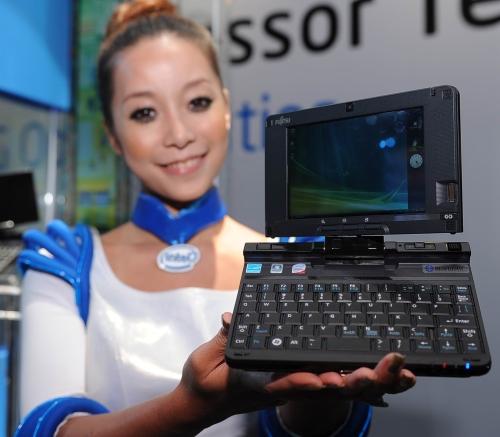 protótipo de netbook da Fujitsu