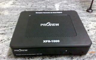 XPS-1000: visto de frente