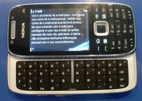 teclado deslizante do E75