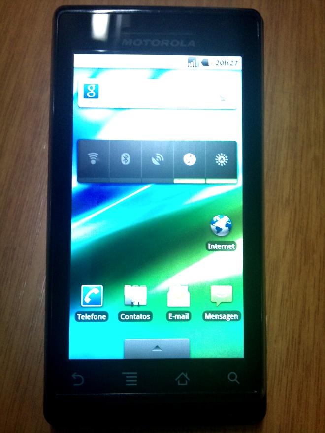 Android 2.2: uma semana de uso no Motorola Milestone ...