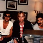 Chillin' with Tom Petty and Lee Thornburg-1985.