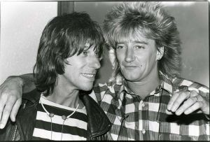 Jeff Beck + Rod Stewart=TENSION