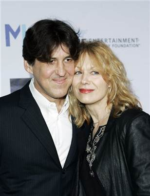 Cameron Crowe with his ex-wife, Heart's Nancy Wilson