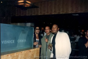 Jimmy Z, Brian Turner & Dr. Dre at Chaya