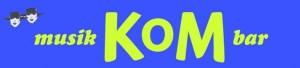 KoM Musik & Bar logo
