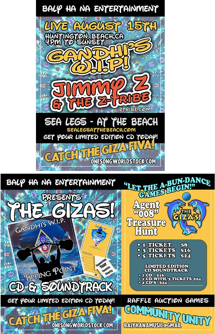 Posters for ZTribe @ sealegs