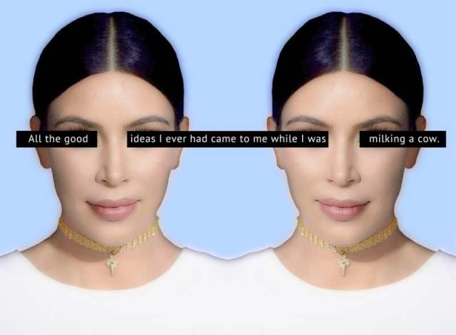 Kim Kardashian Says