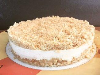 No Bake Mandarinen Quark Torte