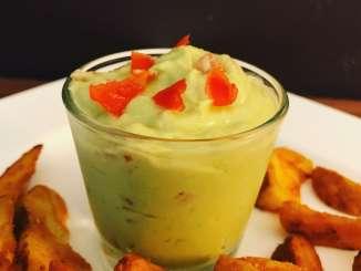 Avocado Frischkäse Dip