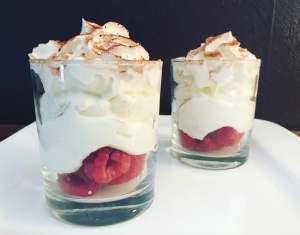 Sahne Raffaello Quark Cream Dessert