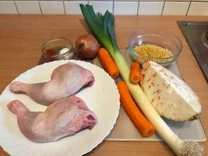 Zutaten Deftiger Hähnchenfleisch Eintopf