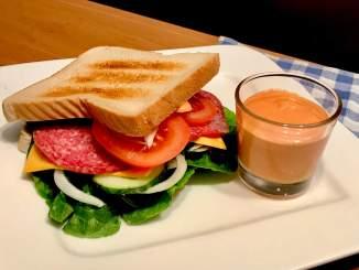 Rauchige Sandwich und Burger Sauce